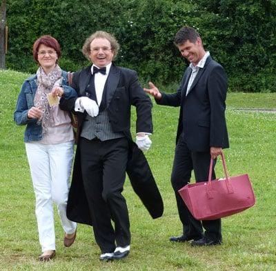 Empfangsbutler - Butler bei Hochzeit, Geburtstag